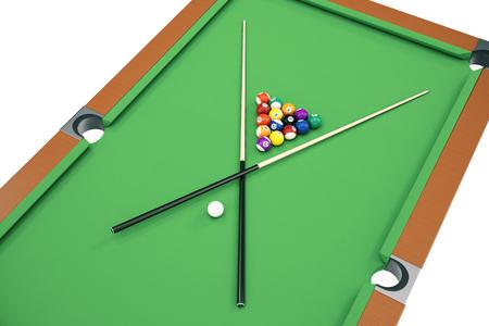 Fondo Americano Delle Palle Dello Snooker Dello Stagno Dell ...