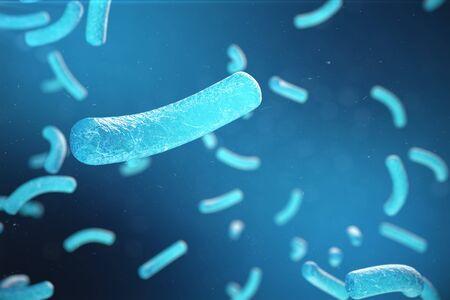3d Illustration, Hepatitis, H1N1, HIV, FLU, AIDS viruses abstract background, Hepatitis viruses in infected organism Stock Photo