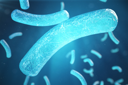 3d Illustration virus, bacteria, cell infected organism, virus abstract background, Hepatitis viruses in infected organism