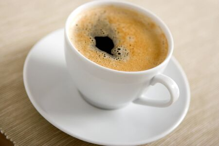 Close up of a delicious cup of coffee Stock Photo - 12052563