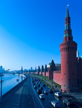 Kremlin  Moskva river, Moscow, Russia photo