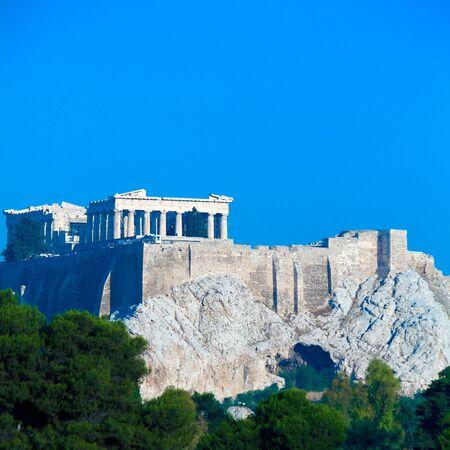 ancient greece: Acropolis, Athens, Greece Stock Photo