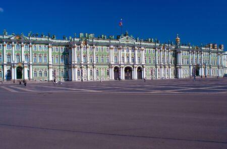 Winter palace (Hermitage), Saint Petersburg, Russia