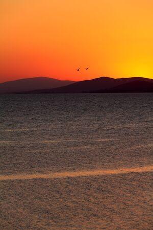 sithonia: Tramonto a Sithonia, Chalkidiki, Grecia