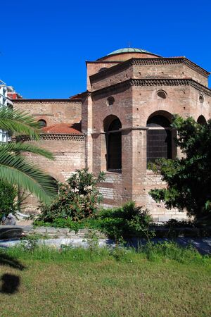 thessaloniki: Agia Sofia church, Salonicco, Macedonia, Grecia