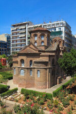 panteleimon: Agios Panteleimon church, Thessaloniki, Macedonia, Greece Editorial
