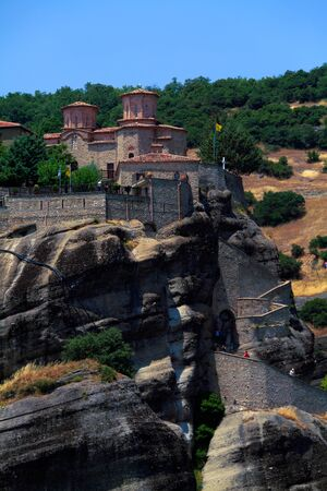 thessaly: The Holy Monastery of Varlaam, Meteora, Thessaly, Greece