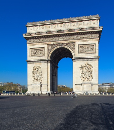 triomphe: Arc de Triomphe (1808), Paris, France