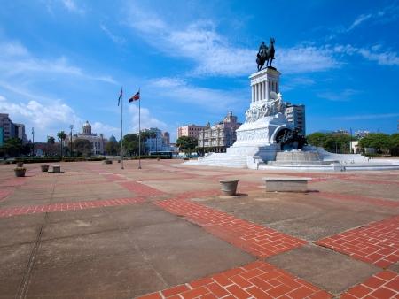 gomez: Statue of General Maximo Gomez, Havana, Cuba