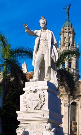 Statue of Jose Marti, Havana, Cuba