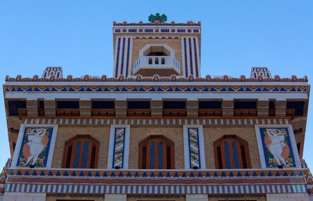 headquarter: Former head-quarter of Baccardi, Havana, Cuba
