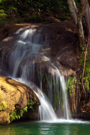 Waterfalls in Topes de Collantes, Cuba photo