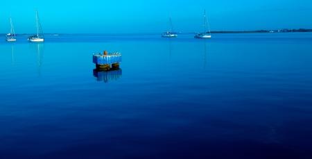 Yacht marine in Cienfuegos, Cuba photo