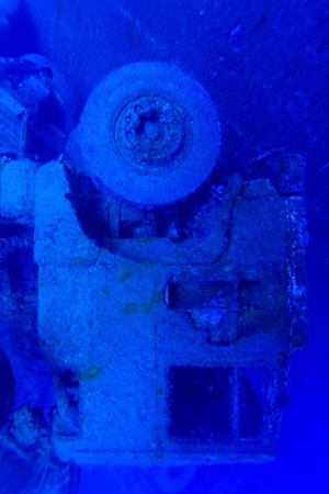 Zenobia ship wreck near Paphos, Cyprus  photo