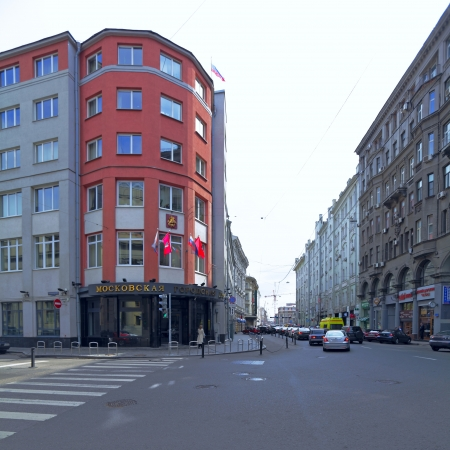petrovka: Building of Moscow city Council (City Duma) Editorial