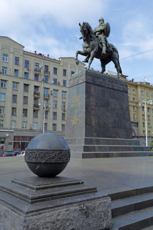 founder: Statue of Yuri Dolgorukiy - founder of Moscow