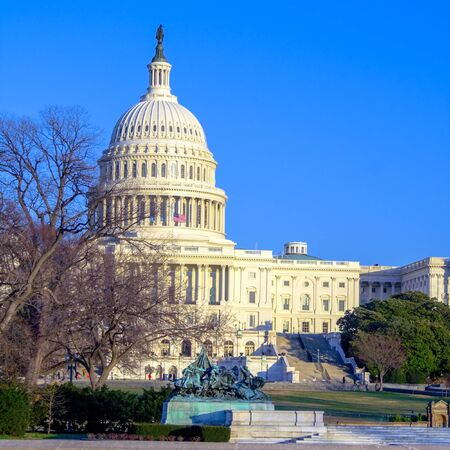 Capitol Building with clear blue sky, Washington DC, USA Stock Photo - 15810178