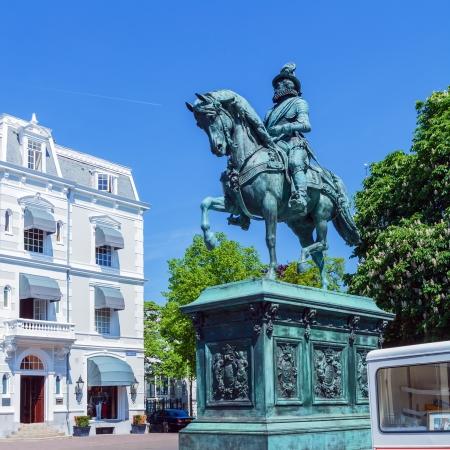 william: Equestrian statue of William of Orange, Hague, Netherlands