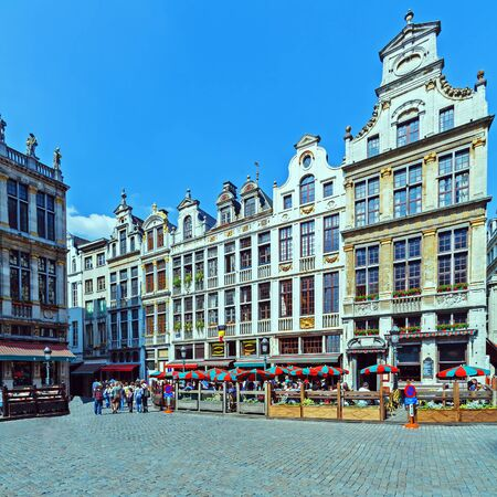 Guildhalls on the Grand Place, Brussels photo