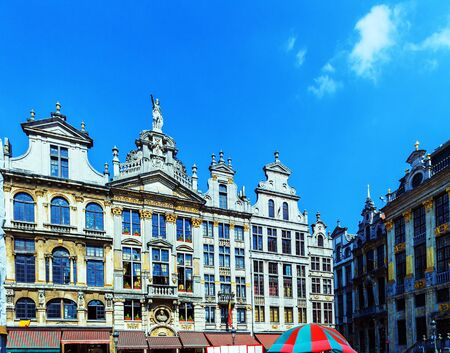 Guildhalls on the Grand Place, Brussels