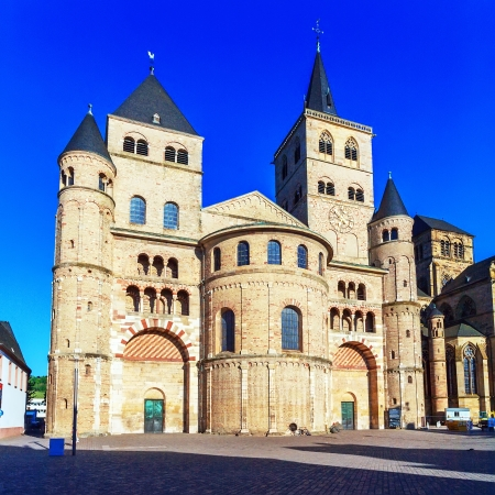 Roman Cathedral of Saint Peter (12th c.), the oldest cathedral in Germany, Trier