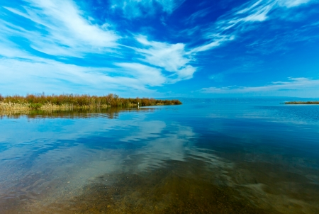 galilee: Landscape of Kinneret Lake - Galilee Sea, Israel