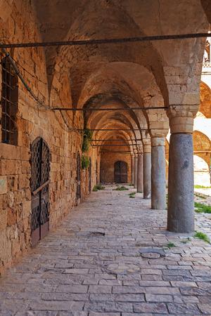 khan: Khan al-Umdan Colonnade, Acre