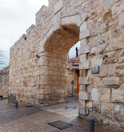 Walls of Ancient City, Jerusalem