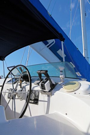 Steer of Ocean Yacht and Sail photo