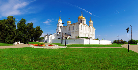 vladimir: Wide Panorama Assumption Cathedral, Vladimir, Russia