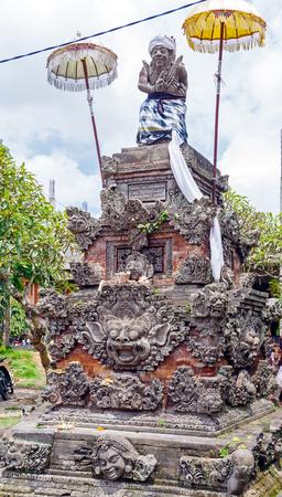Demon statue, Ubud, Bali, Indonesia