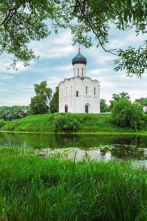 bogolyubovo: Church of the Intercession on the Nerl (1165)