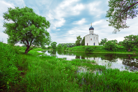 nerl river: Church of the Intercession on the Nerl (1165)