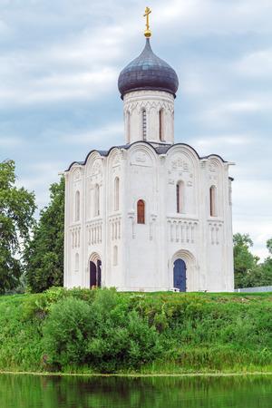 bogolyubovo: Church of the Intercession on the Nerl (1165), UNESCO heritage site, Russia