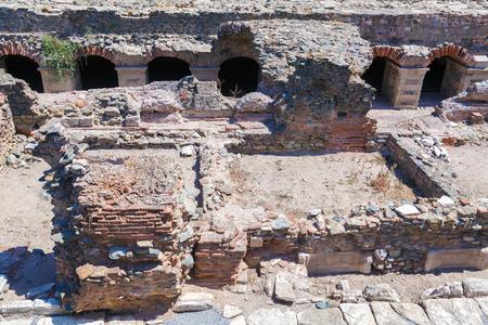 thessaloniki: Roman forum, Thessaloniki, Macedonia, Greece Stock Photo