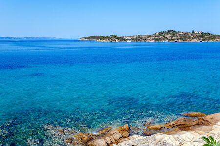sithonia: Sea view in Sithonia, Chalkidiki, Greece