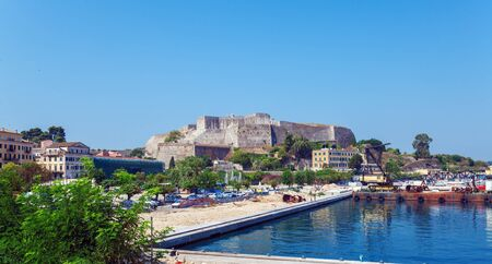 kerkyra: New Fortress in Kerkyra, Corfu island, Greece Editoriali
