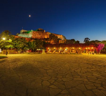 kerkyra: New Fortress at night, Kerkyra, Corfu island, Greece