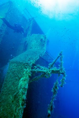 ship wreck: Zenobia ship wreck near Paphos, Cyprus