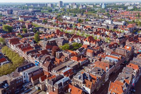 View from Nieuwe Kerk to Oude Kerk, Delft, Netherlands