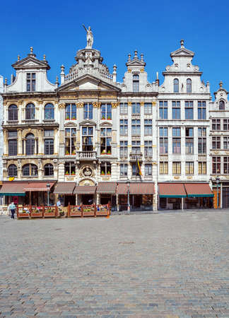 guildhalls: Guildhalls on the Grand Place, Brussels
