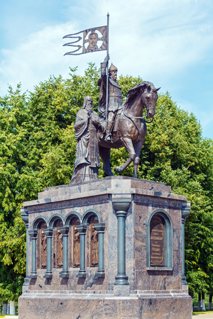 founders: Founders of City Monument, Vladimir, Russia