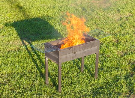 fireplace lighter: Firing Barbecue after Blazing of Firestarter