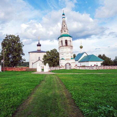 boris: Church of Boris and Gleb in Kideksha (1152), UNESCO World Heritage Site, Suzdal Editorial