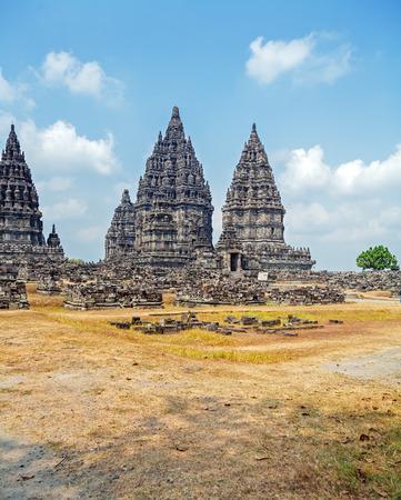 prambanan: Prambanan Hindu temple (IX cent.), Yogyakarta,  Java, Indonesia