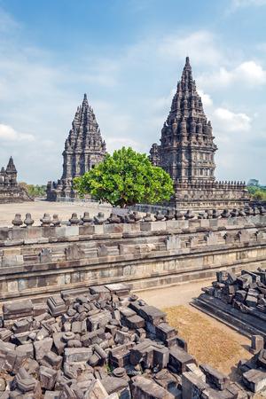 YOGYAKARTA: Prambanan Hindu temple (IX cent.), Yogyakarta,  Java, Indonesia