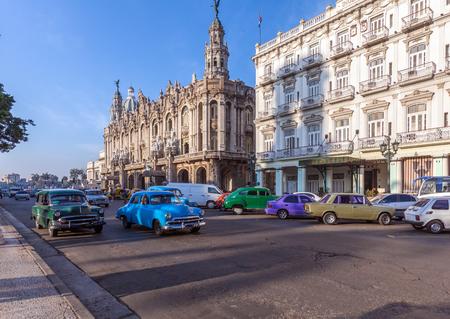 Großes Theater, Altstadt, Havanna, Kuba Standard-Bild - 54809983