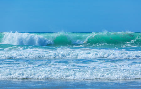 atlantic ocean: Atlantic ocean waves near Biarritz, France