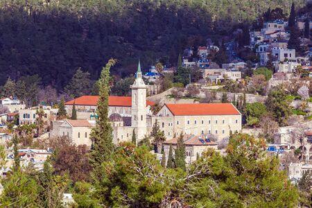 ein: Catholic ?onvent, Ein Kerem, Jerusalem, Israel