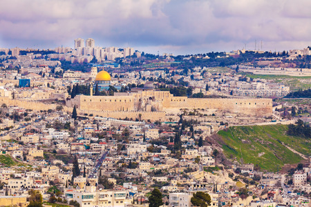 temple mount: Jerusalem Old City and Temple Mount, Israel